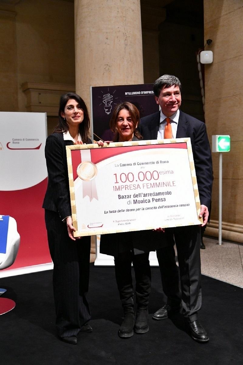 """Premio """"M'Illumino d'impresa"""" – Le imprese femminili sfondano il tetto 100mila"""