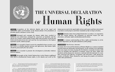 Diritto alla pace. Oggi 10 dicembre la Giornata internazionale celebra 70 anni dalla Dichiarazione Universale