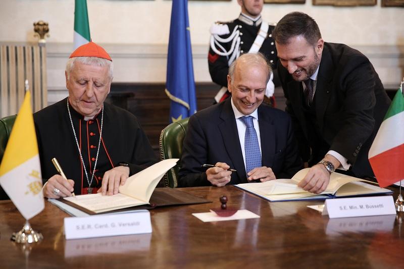 Accordo Italia e Santa Sede per il reciproco riconoscimento dei titoli di studio