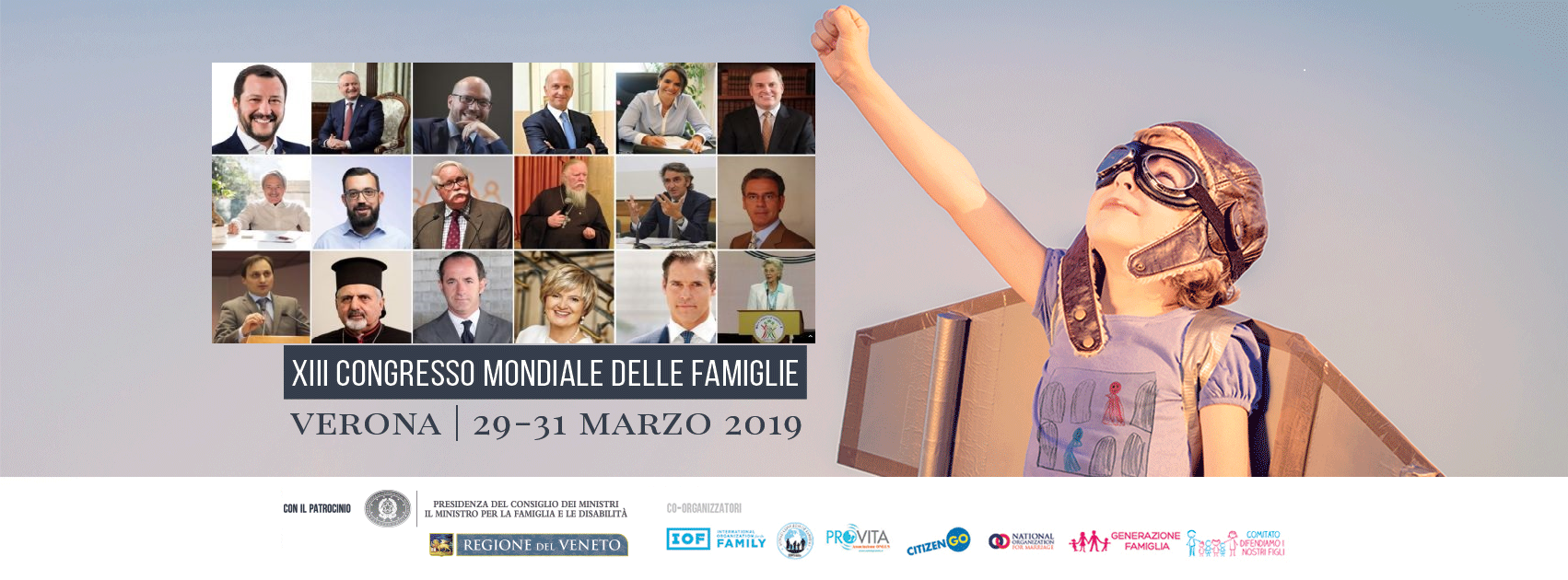 Congresso Mondiale delle Famiglie 2019
