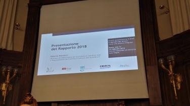 Rapporto del lavoro 2018