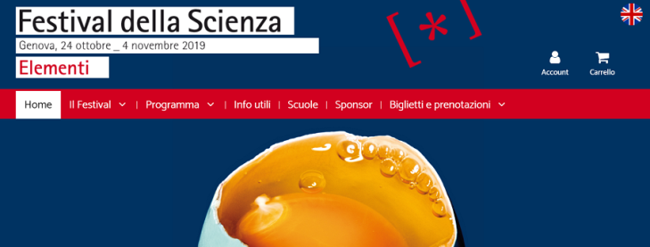 Festival della Scienza 2019 a Genova