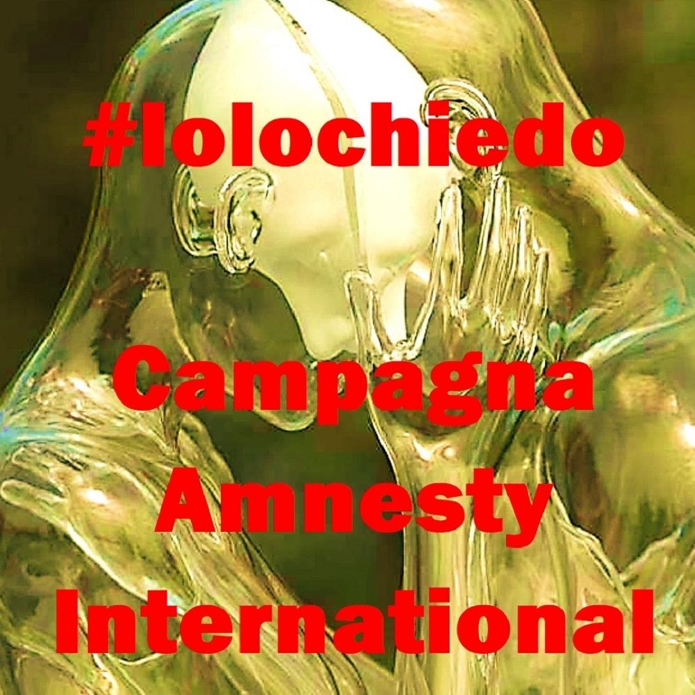 #Iolochiedo campagna Amnesty