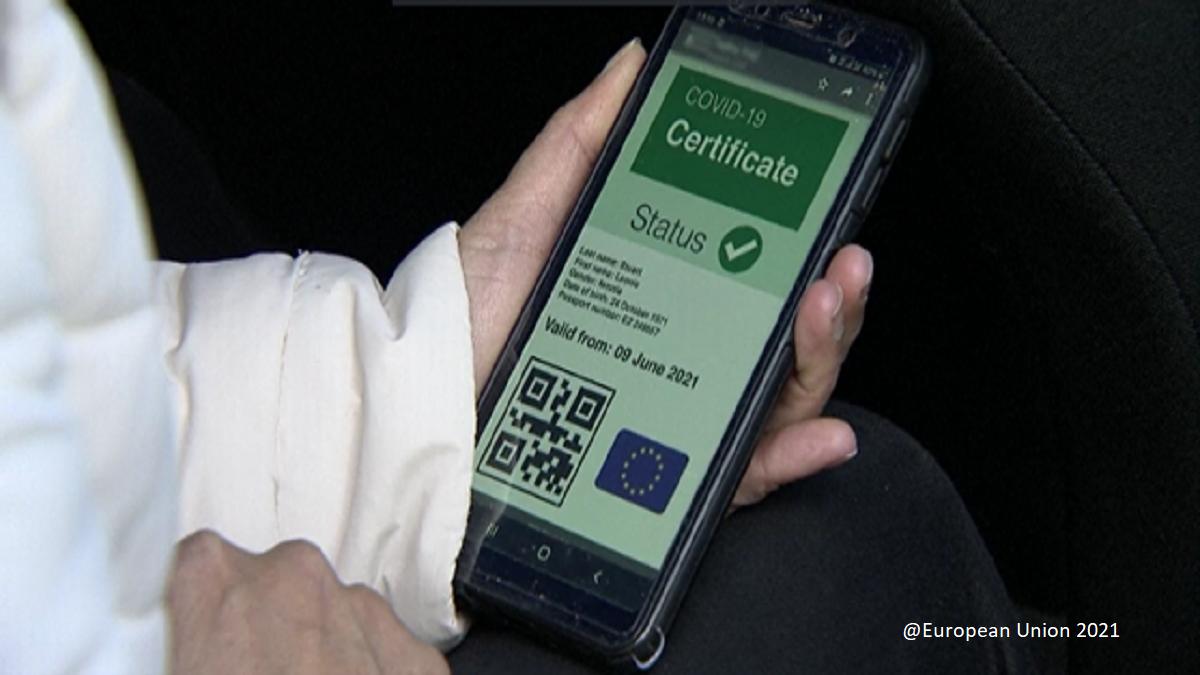 Certificato COVID-19 UE per facilitare la libera circolazione senza discriminazioni