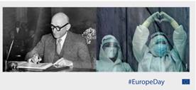 Robert Schuman, avvocato e ministro degli Esteri francese tra il 1948 e il 1952 è considerato uno dei padri fondatori dell'unità europea